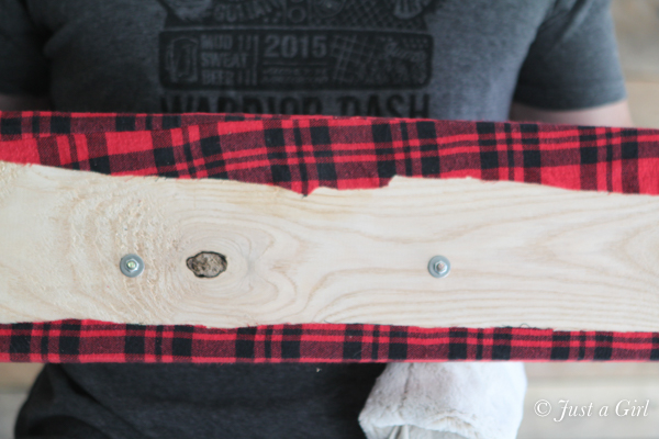 flannel coat rack directions