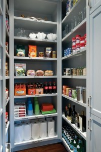 Pantry Wall in Laundry Room