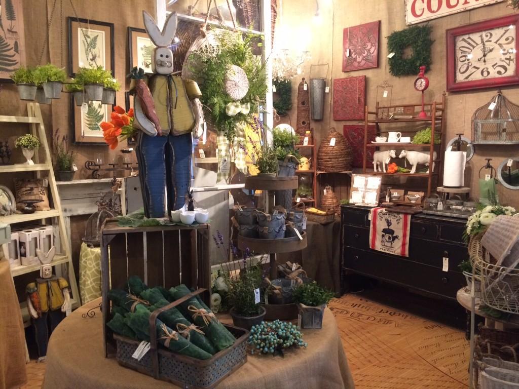 spring store display