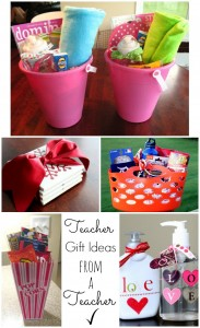 Teacher Gift Ideas from a Teacher