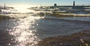 A Day at Lake Michigan