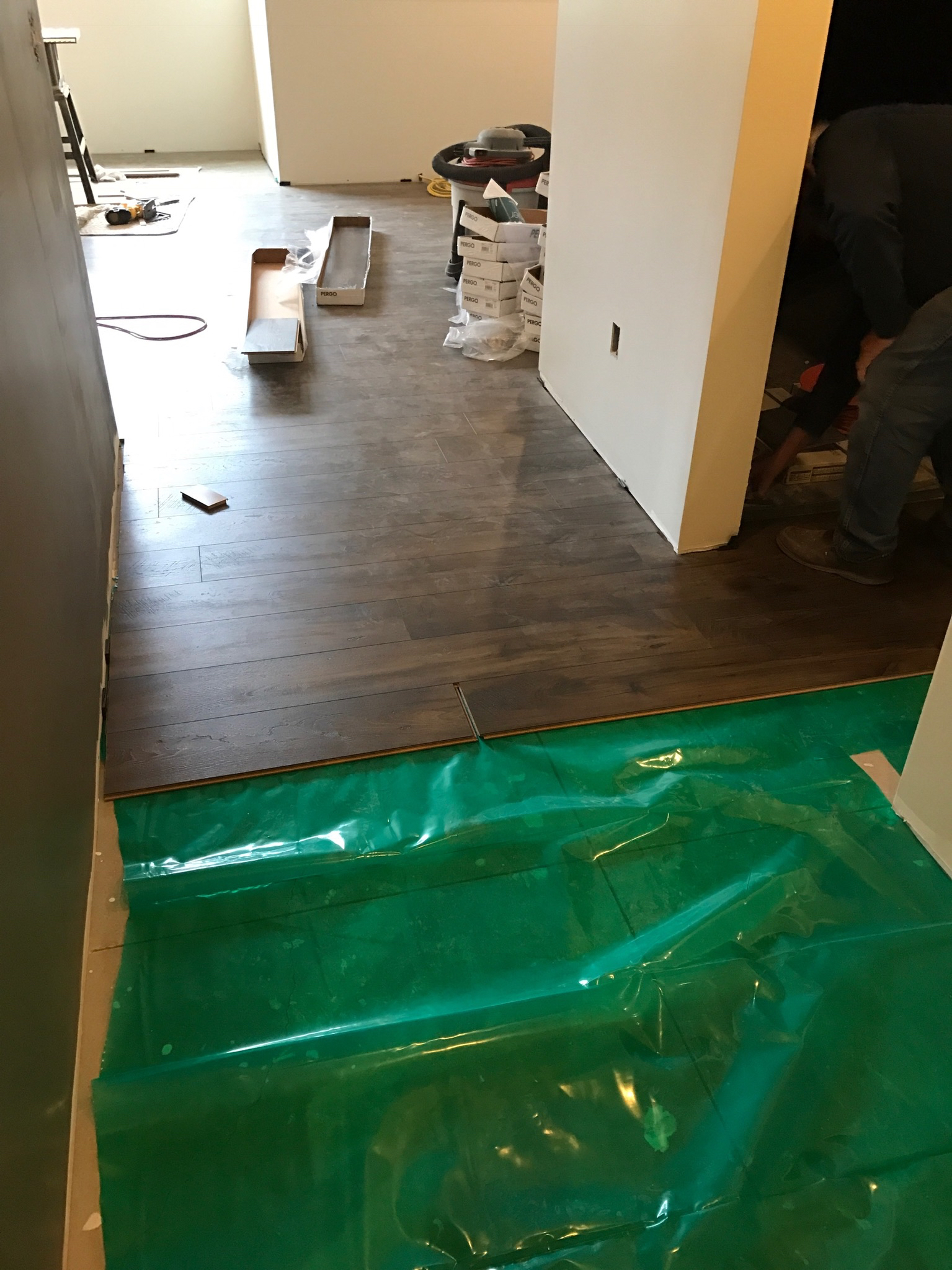 Pergo how to install floors