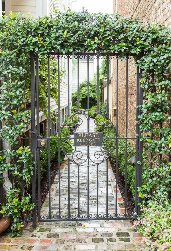 favorite gardens of Charleston