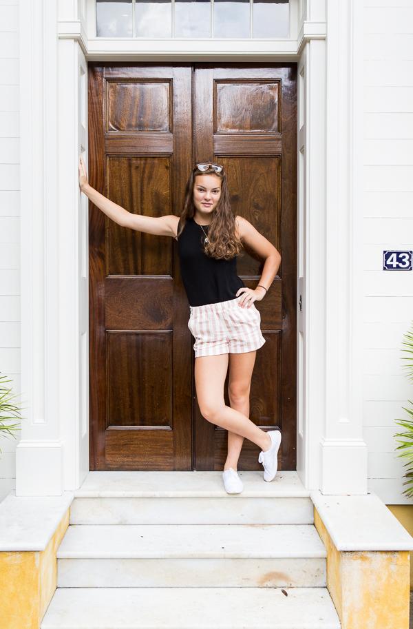 Charleston front door