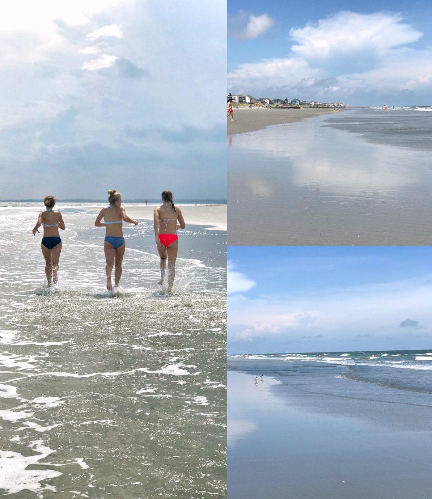 the beaches of Charleston