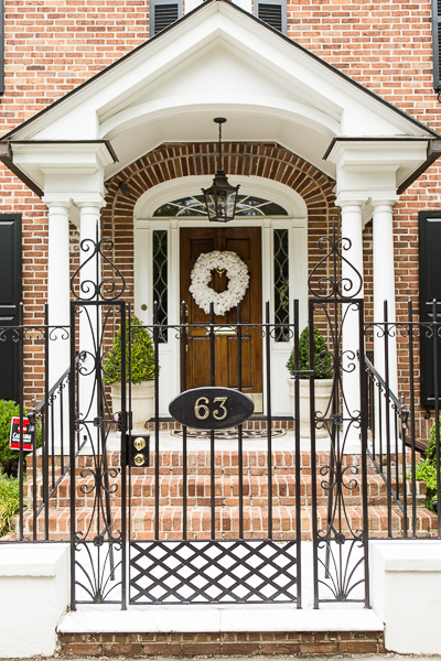brick home in Charleston