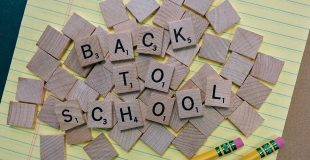 back to school scrabble letters