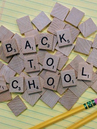 back to school scrabble letters